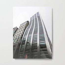 De Beers Ginza Building in Tokyo Metal Print