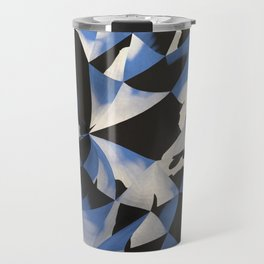 Low Poly background B1 Travel Mug