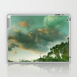 Windy sunset. Vintage Laptop & iPad Skin