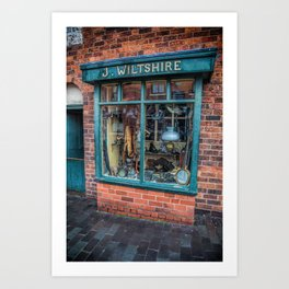 Victorian Pawnbrokers Art Print
