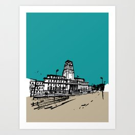 University of Leeds Art Print