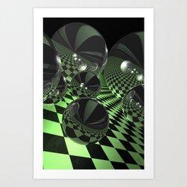 uphill downhill -3- Kunstdrucke