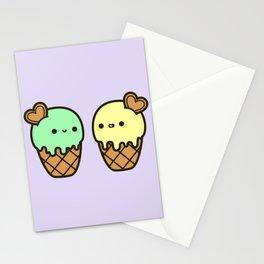 Ice cream love Stationery Cards
