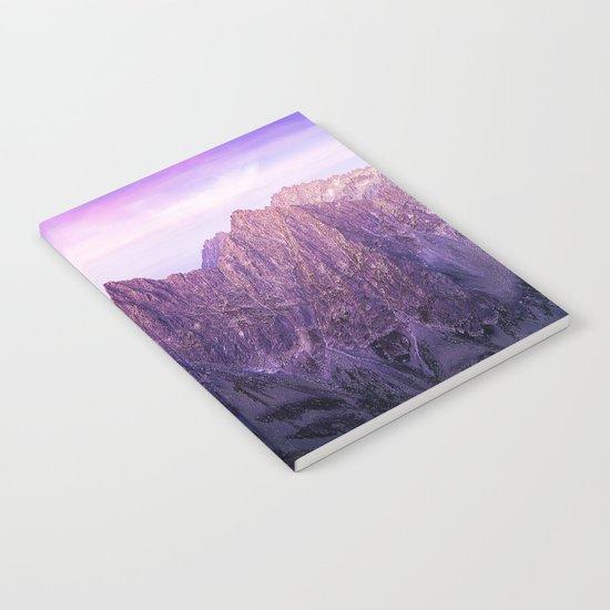 Purple Range Notebook
