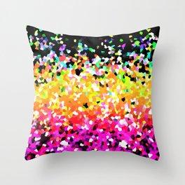 Mosaic Sparkley Texture G225 Throw Pillow