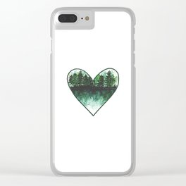 Home: Where the Heart Is Clear iPhone Case