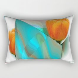 Tulip Sunrise Rectangular Pillow