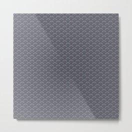 Denim scales Metal Print
