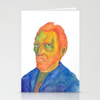 van Stationery Cards featuring Van  Gogh by gunberk