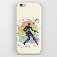 warrior iPhone & iPod Skins featuring Rainbow Warrior by LordofMasks