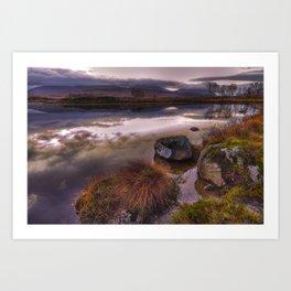 Rannoch Moor, Glencoe, Scotland Art Print
