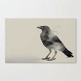 Raven Sky Canvas Print