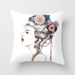 Bad Habit Throw Pillow