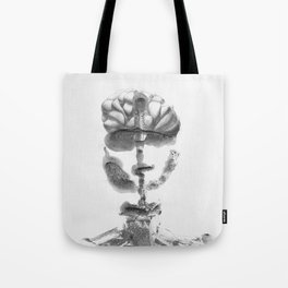 Portrait Monotype Tote Bag