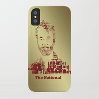 the national iPhone & iPod Cases featuring The National by Luke Eckstein
