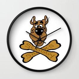 Cartoon Dog Punk Wall Clock