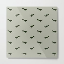 Rex Pattern Metal Print