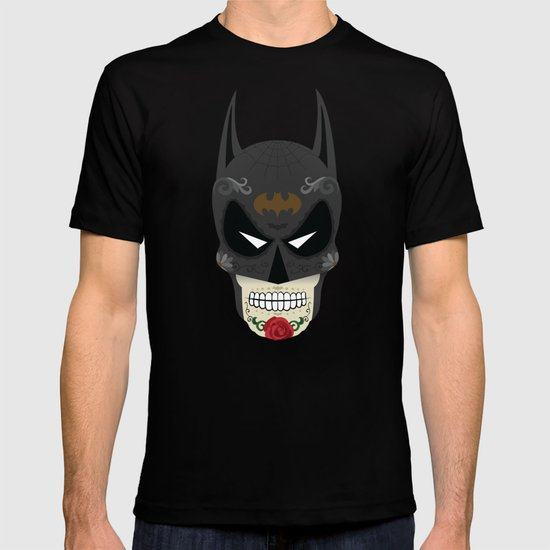 Bat-Man Sugar Skull T-shirt