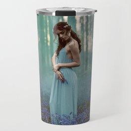 Girl in forest 2 Travel Mug