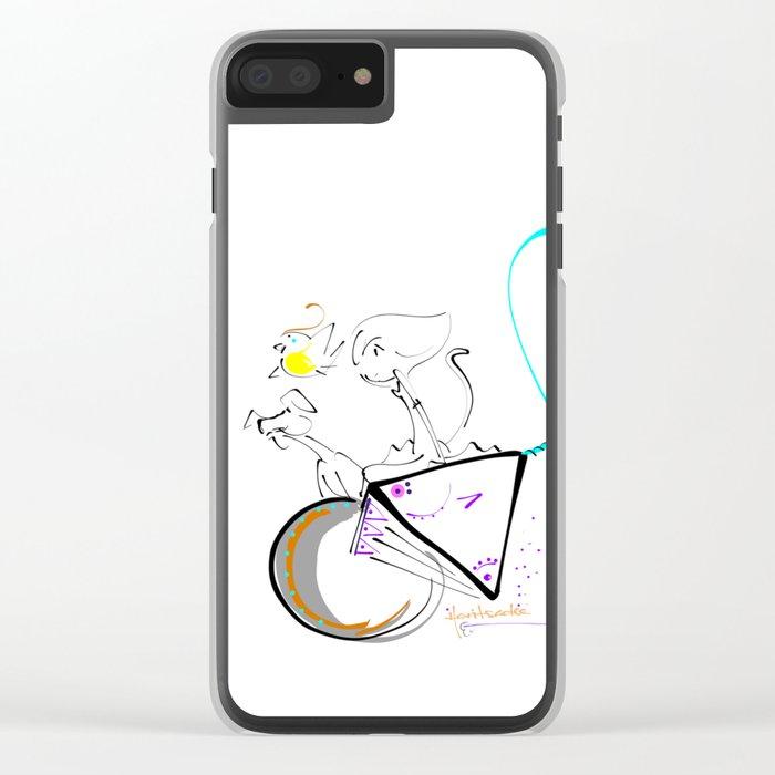 roam Clear iPhone Case