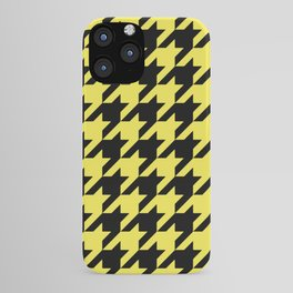 Houndstooth Pattern Classic Vector iPhone Case