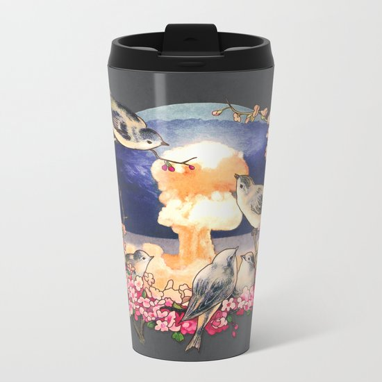 Second Sun  Metal Travel Mug