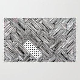 Optical Illusion - Diagonal Lines Rug