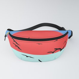 Incandescent sun Fanny Pack