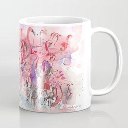 Flamingoes Coffee Mug