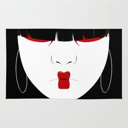 Modern Geisha #2 Rug