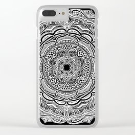 Dedication to Lucy (black) Clear iPhone Case