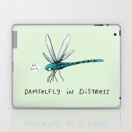 Damselfly in Distress Laptop & iPad Skin