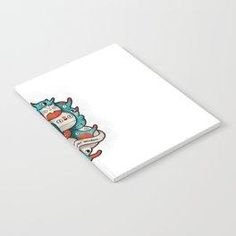 Embrace your weirdness Notebook