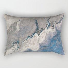 Blue Skies are coming Rectangular Pillow
