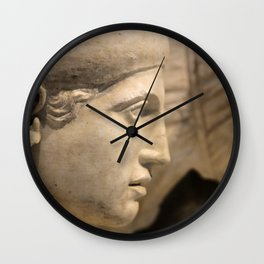 Lady of the Temple Wall Clock