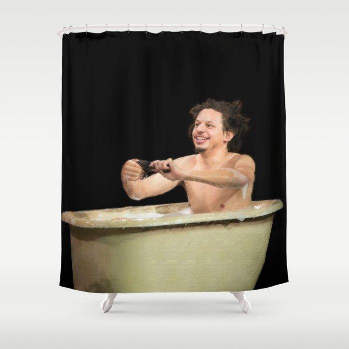 Eric Andre In A Bath Tub Shower Curtain by prestonsurdo | Society6
