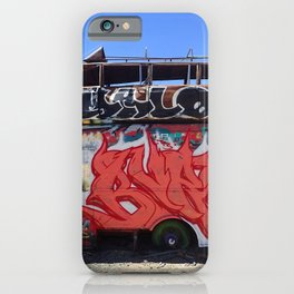 Box truck limo art iPhone Case