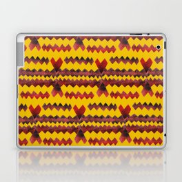 Ethnic diamond Laptop & iPad Skin