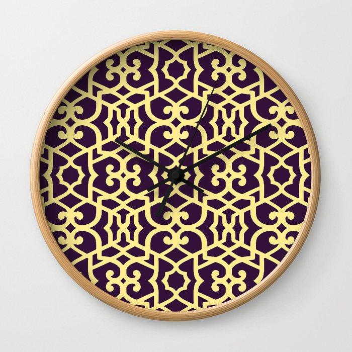 Marrakech 1 Wall Clock