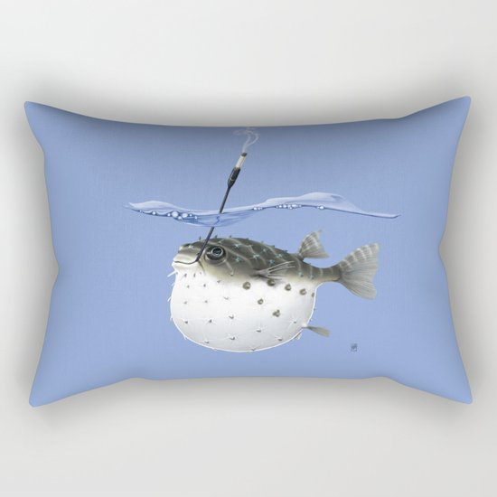 Take It Outside! (Colour) Rectangular Pillow