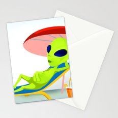 Mrs.Alien Stationery Cards