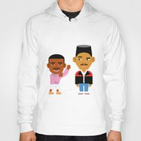 fresh prince Hoodies featuring The Fresh Prince (Version 2) by Evan Gaskin