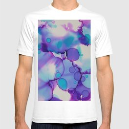 Purple and blue T-shirt