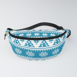 Christmas Holiday Nordic Pattern Cozy Fanny Pack