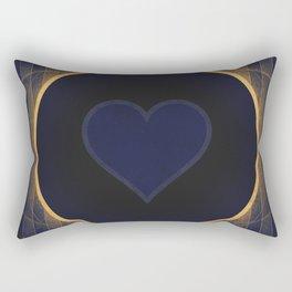 Pluto - The Heart Rectangular Pillow