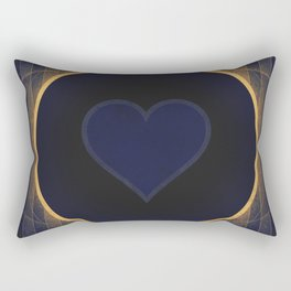 Pluto - The Heart Rectangular Pillow