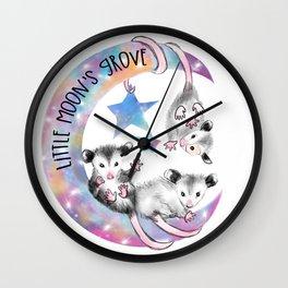 Little Moons Grove Logo Wall Clock