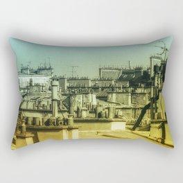Haute Vue Paris / Chimneys Rectangular Pillow