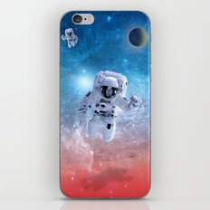 space astronaut iPhone & iPod Skin