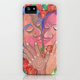 Love's bloom iPhone Case